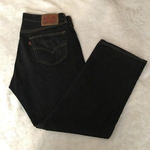 Levi's 501 Jeans, Men's, 36x30, Black